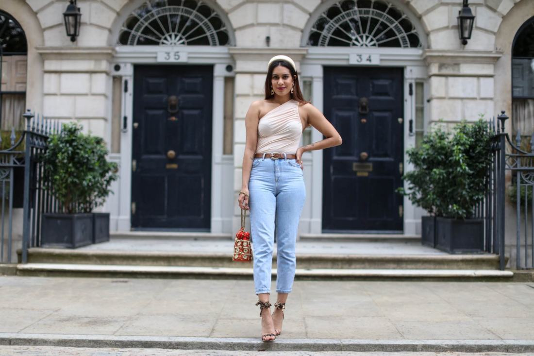 Reena Rai wearing ASOS and Topshop