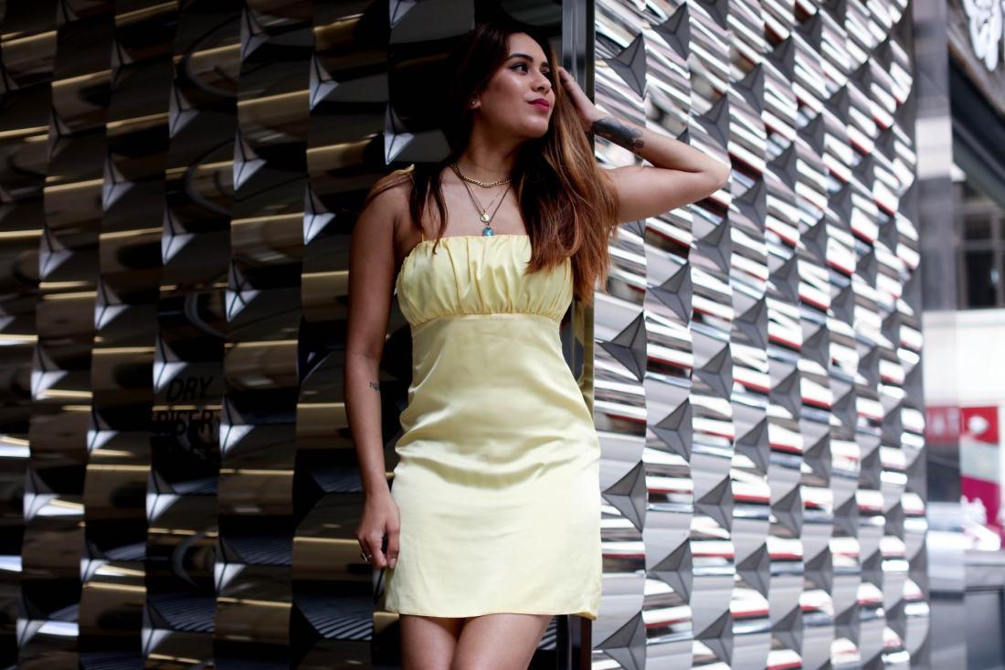 UK fashion blogger Reena Rai wearing ASOS Reclaimed Vintage