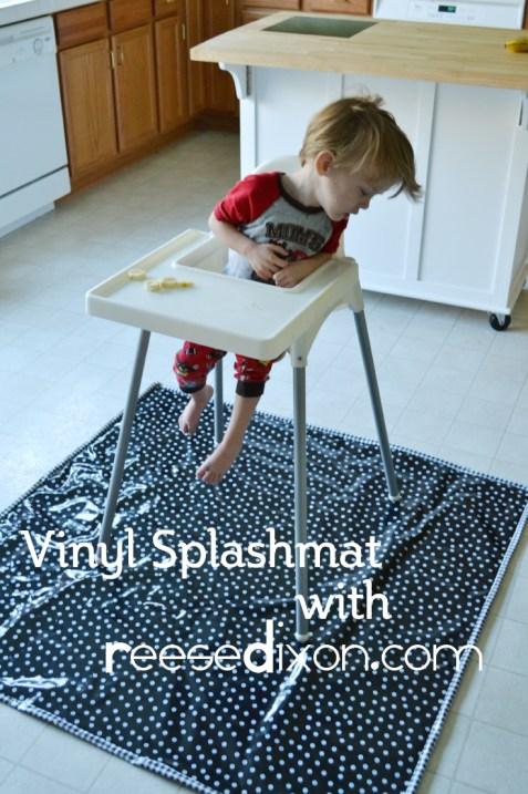 Vinyl Splash Mat