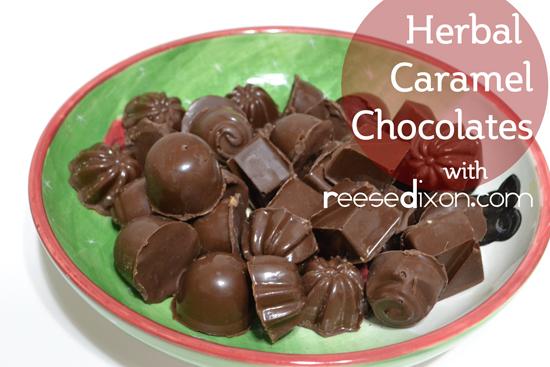 Herbal Caramel Chocolates