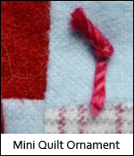Mini Quilt Ornament