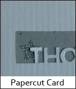 Papercut Card