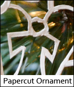 Papercut Ornament