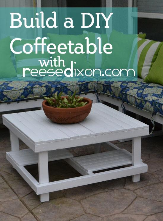 Diy Outdoor Coffeetable Reese Dixon
