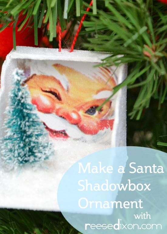 Santa Shadowbox