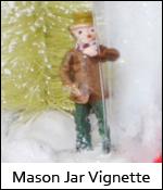 Mason Jar Vignette