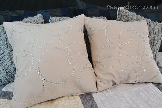 Rhinestone Pillow