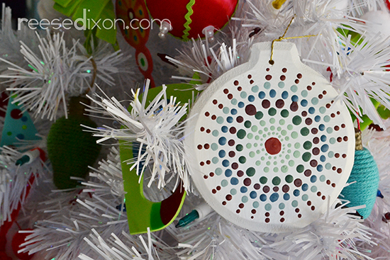 dotty-ornament