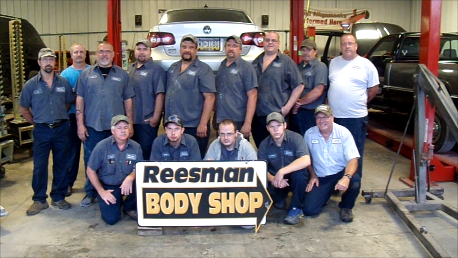 Reesman Body Shop employees