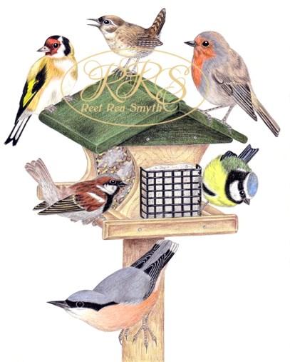 Linnud söögimajas