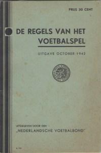 RegelsVoetbalspel1942