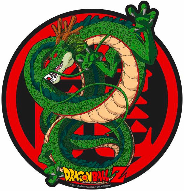 tapis de souris dragon ball z shenron