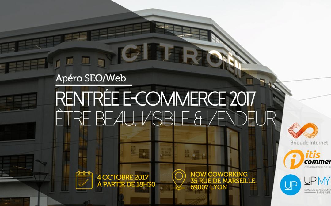 Vous êtes invité à notre Apéro Web/SEO le 4 octobre à Lyon
