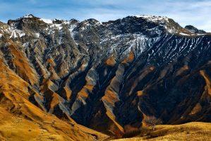 mountain area in autumn