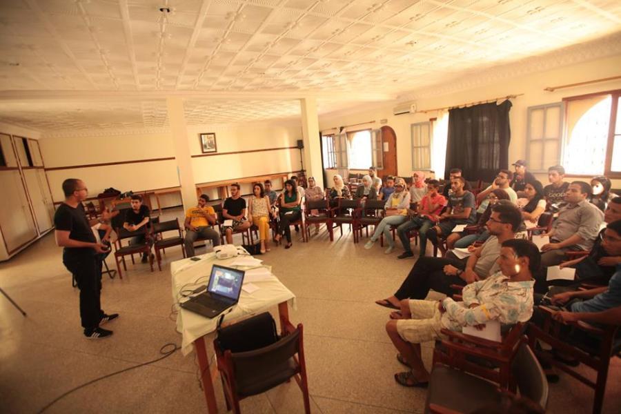 23 Juillet 2016- JLM, Summer Camp à Kenitra
