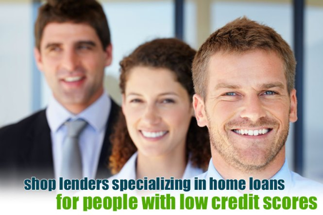 low credit home loans