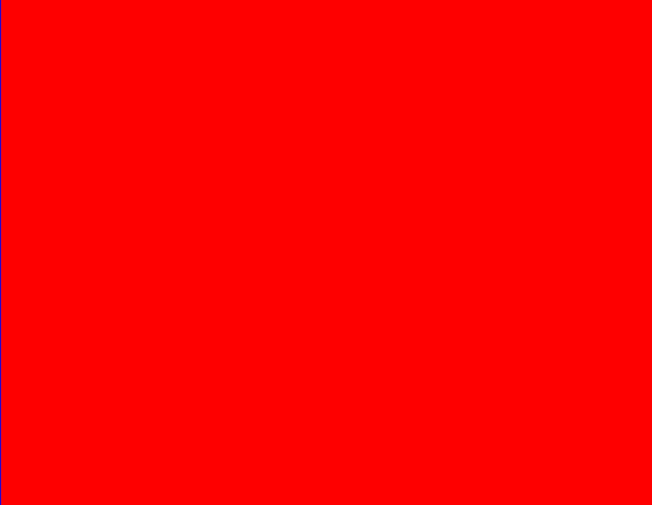 Pure Red Test Screen