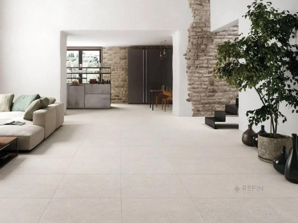 large grey concrete tiles mold