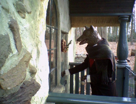 Wolf at the Door by Gidi