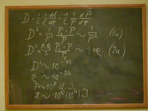 """Einstein blackboard"" by decltype"
