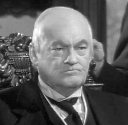 "Lionel Barrymore as Mr. Potter in ""It's A Wonderful Life"""