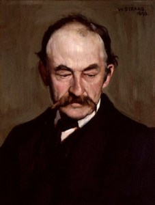 portrait of Thomas Hardy by William Strang