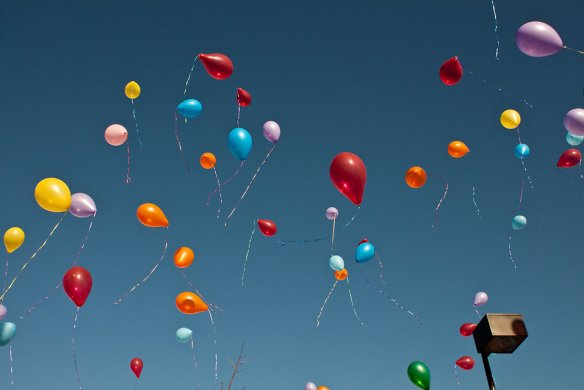 """Balloons"" by Shaun Fisher is licensed under Creative Commons Attribution 2.0."