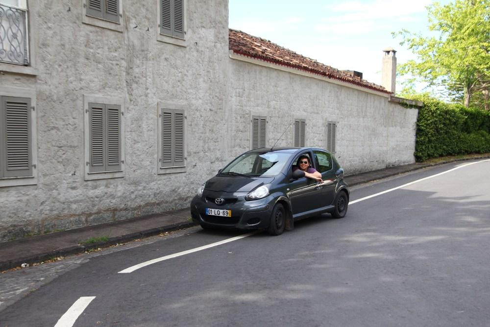 rent car azores
