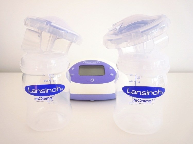 lansinoh double electric breast pump instructions