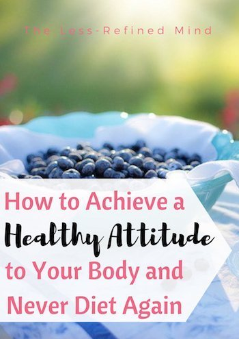 Wouldn't it be amazing to know the secret to body confidence and ditch diets forever? Read this to find out how! #diet #bodyimage