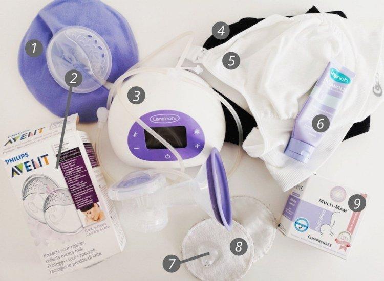 Breastfeeding Essentials - Numbered