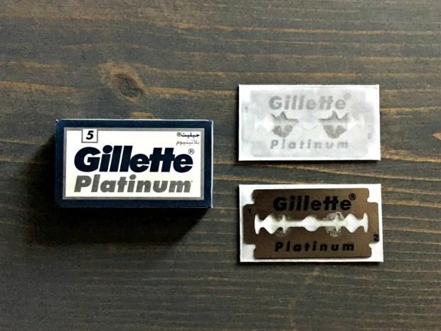 Gillette Platinum Razor Blade