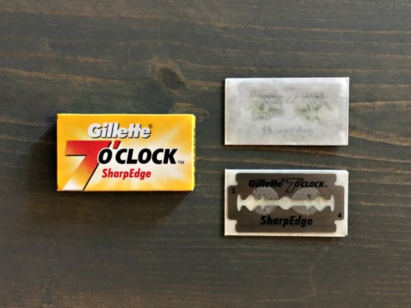 Gillette 7 O'Clock SharpEdge Razor Blade Review