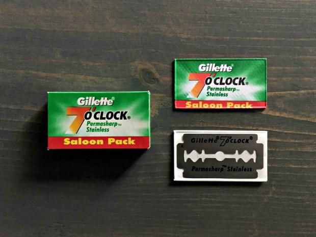 Gillette 7 O'clock Permasharp Stainless Razor Blade