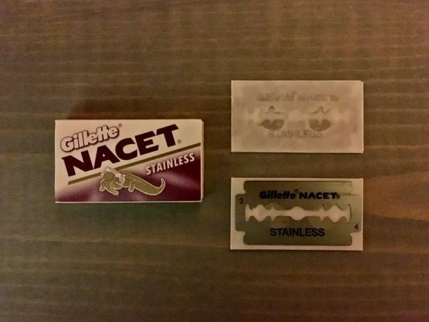 Gillette Nacet Stainless Razor Blade