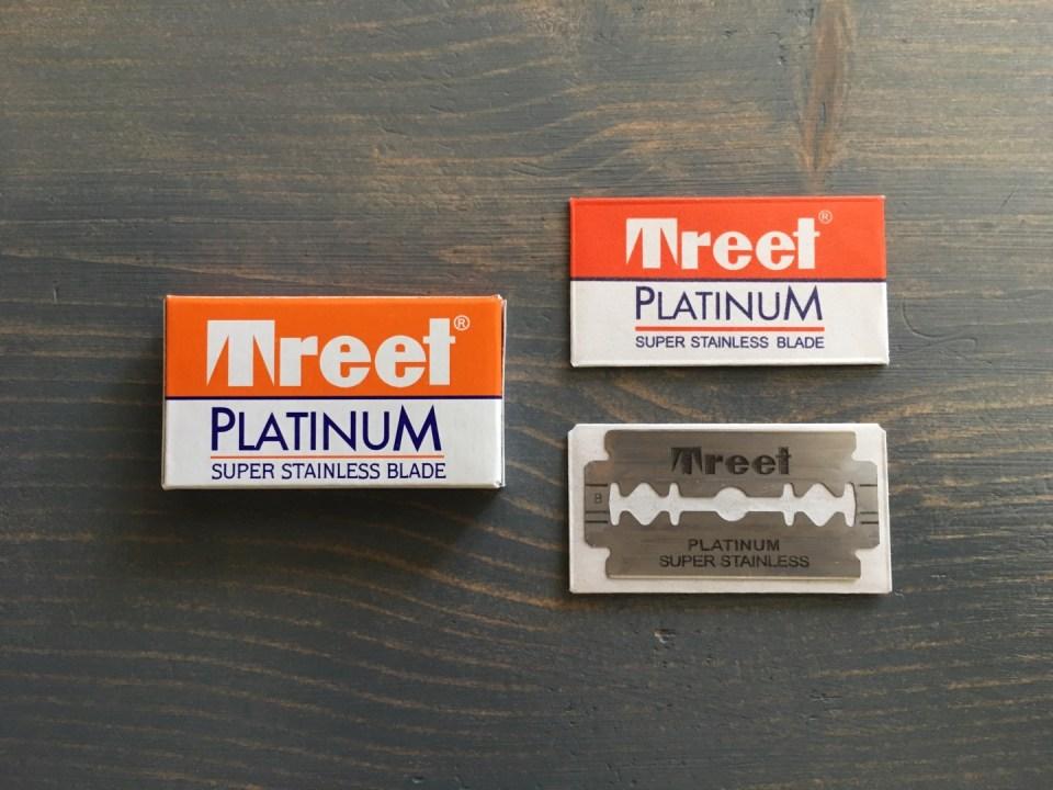 Treet Platinum Super Stainless Razor Blade