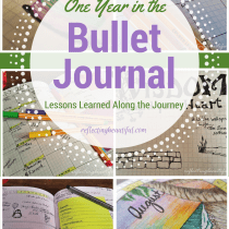 One Year Bullet Journal Anniversary