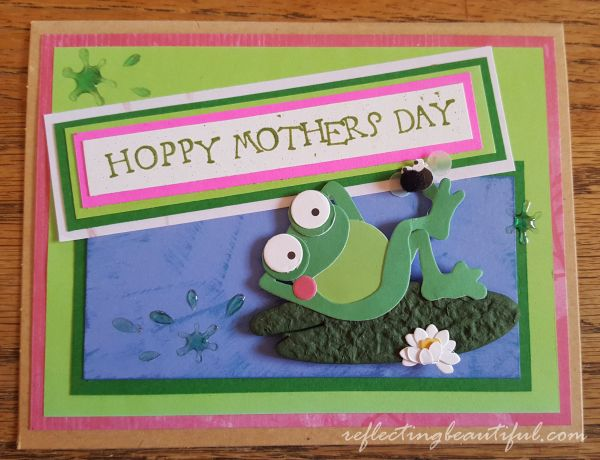 Hoppy Mother's Day Card