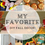 My Favorite DIY Fall Decor