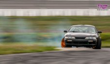 240sx s14 drifting at Pocono