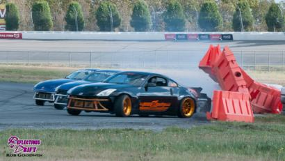 Adam LZ drifting at Stacked