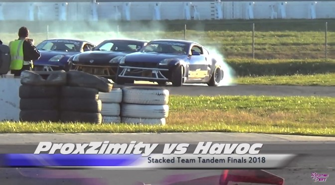 Stacked Motorsports Festival Team Tandem Drifting Competition Finals Video