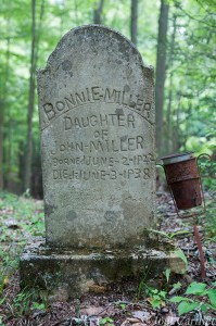 The Path to Bonnie Miller's Grave