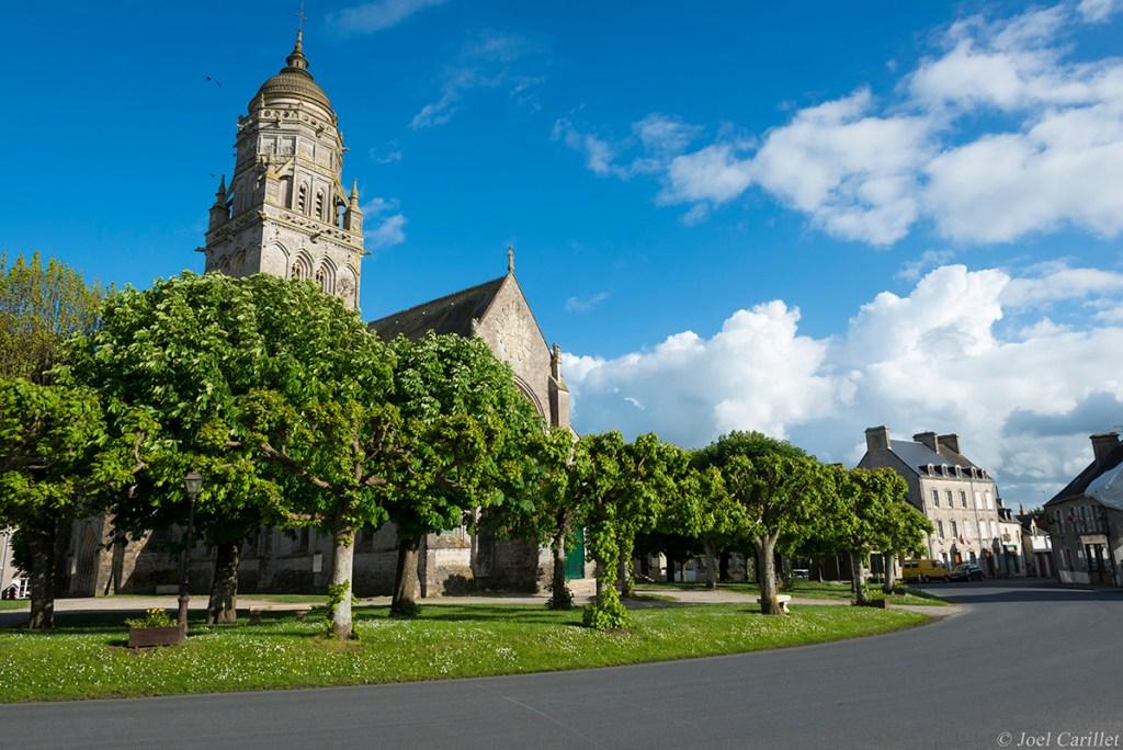 Church of Notre-Dame in Sainte-Marie-du-Mont