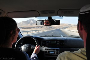 Hitchhiking with Israelis in the Jordan Valley