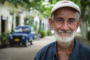 Portrait in Mompos, Colombia