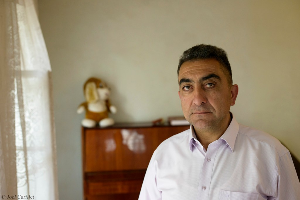 Saro Saryan in Shushi, Nagorno-Karabakh