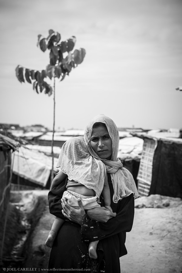 Rohingya refugee at Balukhali refugee camp, Bangladesh