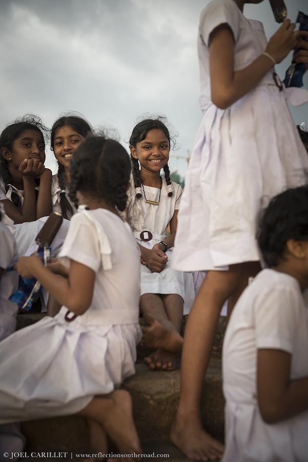 Girls in Colombo, Sri Lanka