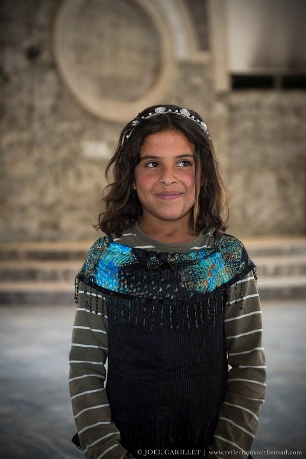 Girl in Mosul, Iraq